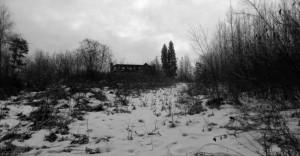 Talisman House in the dead of winter